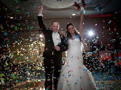 Confetti Blast Wedding Dallas Of Rentals Event